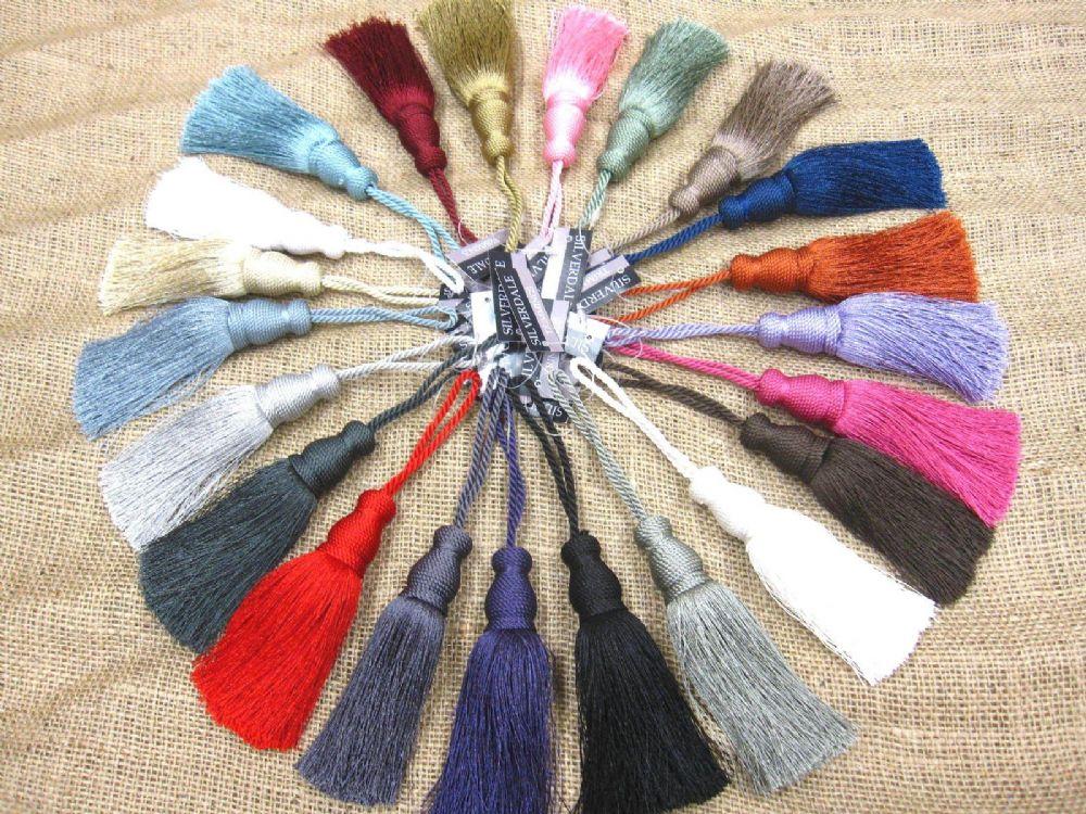 Delta Key Tassel 12cm Trim Fabric Decoration Sewing Decor